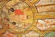Detalj av takmålningen