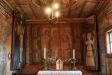 Det minimala koret och altaret.