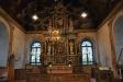 Altaruppsatsen från 1717 är gjord av rådmannen Hans Christoffer Datan