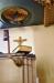 Det roligaste med predikstolen är timglashållaren
