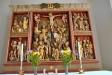Altarskåp med oklar härkomst både i tid och rum