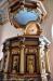 Predikstolen från samma tid som altaruppsatsen har troligen samma mästare