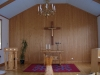 Interiör Däldernas kapell