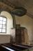 Predikstolen från 1600-talet är förhållandevis enkel