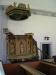 Vackert skulpterad predikstol från 1712
