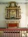 Den stiliga altaruppsatsen från 1716
