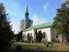 2013-10-07. Tidaholms kyrka genomgår en totalrenovering orsakad av en anlagd brand våren 2013.
