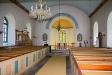 Kyrkorummet från entrén.