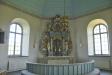 Altaruppsatsen är i rokokostil