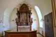Altaruppsats från 1734 av mäster Cransberg
