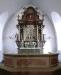 Altaruppsatsen i Åsle kyrka. Foto:Åke Johansson.