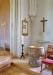 målad av Saga Walli som också målat en mindre altartavla i sakristian.