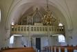 Predikstolen med evangelisternas symboler