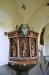 Predikstol från c:a 1735