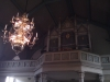 interiör: orgel och takkrona  i dala kyrka