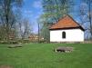 Dala gamla kyrkplats norr om nya kyrkan