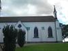 Exteriör utav kyrkofönstren i Dala kyrka