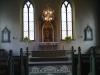 Interiör från dala kyrka
