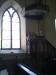 Interiör utav prediksstolen i Dala kyrka