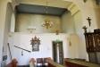 Norra korsarmen är avdelad till sakristia sedan 1937