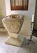 Dopfuntens cuppa är från tidig medeltid och räddades vid branden