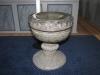 Dopfunt i täljsten från år 1200