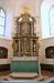 Altaruppsatsen övertogs från gamla kyrkan