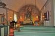 Interiör av Hammarö kyrka