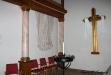 Juni 2013. Det renoverade Guldkorset från den gamla altaruppsatsen.Uppladdad av: