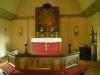 Altartavlan av okänd konstnär är från 1700-talet