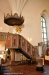 Predikstolen från 1934 är byggd runt en ursprunglig predikstol i nygotisk stil från 1888.
