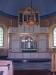 Ovanligt med altare och altarorgel
