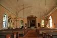 Korfönstret till vänster om altaret sattes in 1915