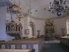 Altaruppsats och predikstol i samma anda