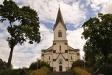 Gravkoret som var sammansatt med gamla kyrkan