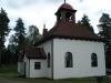 Kapellet från nordväst.