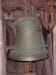 Storklockan från 1300-talet. Den enda i Svealand med runinskrift