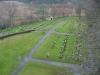 Del av kyrkogården