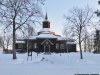 Kyrkan i vinterskrud