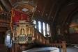 vackraste av de fyra 1600-talsmålningarna som hänger i korsarmarna