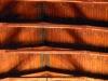 Målade slingor i taket. Foto:Bertil Mattsson