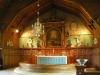 Predikstol med intarsia från 1643