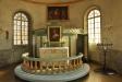 Altarpredikstolen som inte används särskilt ofta..