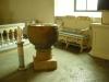 Ett snideri som troligen tillhört ett tidigare altare
