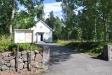 Mariedamms kapell. sett från vägen