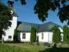 Järnboås kyrka i sommarsol