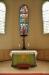 originalmålningen till Nora kyrkas centrala korfönster