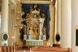 Altarskåpet är tillverkat i Antwerpen omkring 1515.