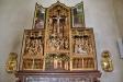 Altarskåp(ett s.k. mysterieskåp) från omkr. 1515 tillverkat i Antwerpen
