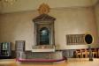 Predikstol från 1705 med en ängel på ljudtaket